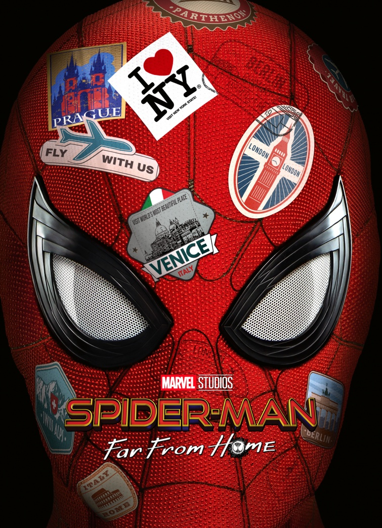 SPIDER-MAN FAR FROM HOME (DVD, Blu-ray, Blu-ray 3D, 4K Ultra HD, SteelBook, FAC Editions)