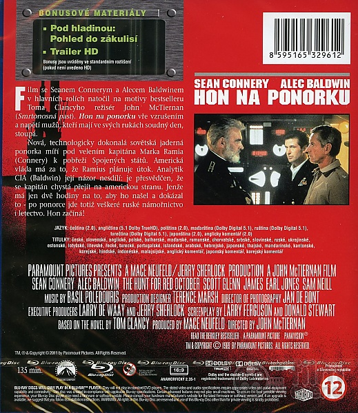 us forces track down and hunt the russians red october Based on tom clancy's bestseller, directed by john mctiernan (die hard) and starring sean connery and alec baldwin, the hunt for red october seethes with high-tech excitement and sweats with the tension of men who hold doomsday in their hands.