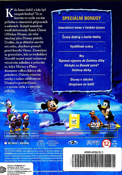 Mickey Mouse Twice Upon A Christmas Dvd.Mickey S Twice Upon A Christmas Dvd