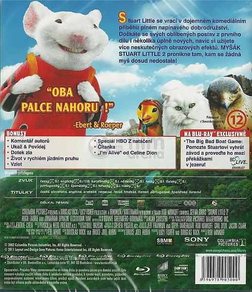 Stuart Little Ii Blu Ray