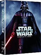 Star Wars: The Complete saga episodes 1-6  Collection (9 Blu-ray)