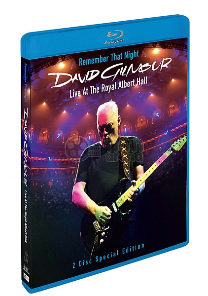 David Gilmour Remember That Night Blu Ray