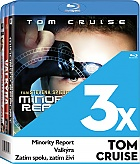 3x Tom Cruise Collection (3 Blu-ray)