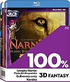 3x 100% 3D fantasy Collection (3 Blu-ray 3D)