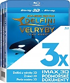 3x IMAX 3D Podmořské dokumenty Collection (3 Blu-ray 3D)