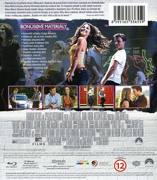 Footloose 2011 Blu Ray