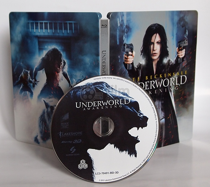 8a3e05db9 Underworld: Awakening 3D + 2D Steelbook™ Limited Collector's Edition (Blu- ray 3D)