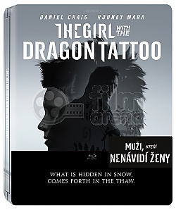 THE GIRL WITH THE DRAGON TATTO Steelbook™ Limited Collector's Edition + Gift Steelbook's™ foil