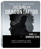 THE GIRL WITH THE DRAGON TATTO Steelbook™ Limited Collector's Edition + Gift Steelbook's™ foil (2 Blu-ray)