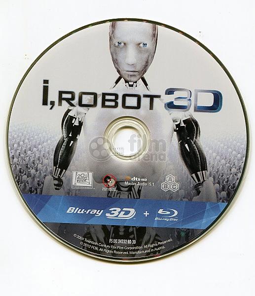 I, Robot 3D (Blu-ray 3D
