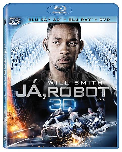 I, Robot 3D 3D + 2D (Blu-ray + 2 DVD