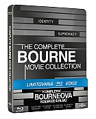 Bourne Quadrilogy 1 - 4  Steelbook™ Collection Limited Collector's Edition + Gift Steelbook's™ foil (4 Blu-ray)