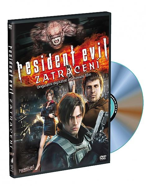 Resident Evil Damnation 2012 Dvd