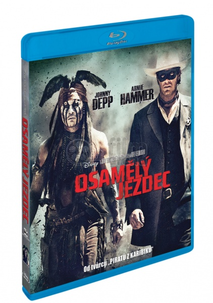The Lone Ranger Blu Ray
