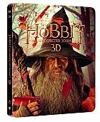 The Hobbit: An Unexpected Journey 3D + 2D Steelbook™ Limited Collector's Edition + Gift Steelbook's™ foil (2 Blu-ray 3D + 2 Blu-ray)