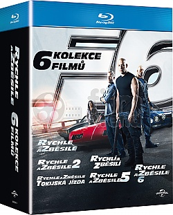 Fast and the Furious 1-6 Collection