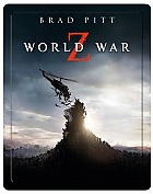 World War Z 3D + 2D STEELBOOK 3D + 2D Steelbook™ Limited Collector's Edition + Gift Steelbook's™ foil (Blu-ray 3D + Blu-ray)