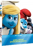 The Smurfs 2 3D + 2D Steelbook™ Limited Collector's Edition + Gift Steelbook's™ foil (Blu-ray 3D + Blu-ray)