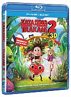 CLOUDY WITH A CHANCE OF MEATBALLS 2 3D + 2D (Blu-ray 3D + Blu-ray)