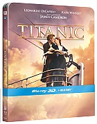 TITANIC 3D + 2D Steelbook™ Limited Collector's Edition + Gift Steelbook's™ foil (2 Blu-ray 3D + 2 Blu-ray)