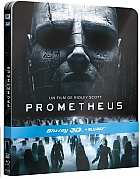 Prometheus 3D + 2D Steelbook™ Limited Collector's Edition + Gift Steelbook's™ foil (Blu-ray 3D + 2 Blu-ray)