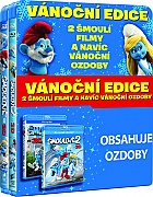 The Smurfs 1 + 2 (Blu-ray 3D)
