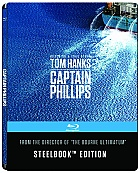 CAPTAIN PHILLIPS Steelbook™ Limited Collector's Edition + Gift Steelbook's™ foil (Blu-ray)