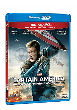 CAPTAIN AMERICA: The Winter Soldier 3D + 2D