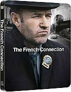 The French Connection Steelbook™ Limited Collector's Edition + Gift Steelbook's™ foil (Blu-ray)