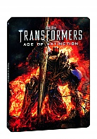 Transformers: Age of Extinction 3D + 2D Steelbook™ Limited Edition + Gift Steelbook's™ foil (Blu-ray 3D + 2 Blu-ray)