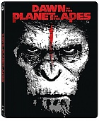 Dawn of the Planet of the Apes 3D + 2D Steelbook™ Limited Edition + Gift Steelbook's™ foil (Blu-ray 3D + Blu-ray)