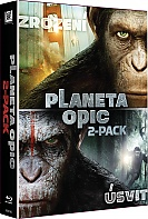 Dawn of the Planet of the Apes + Rise of the Planet of the Apes Collection (2 Blu-ray)