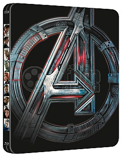 AVENGERS 2: The Age of Ultron 3D + 2D Steelbook™ Limited Collector's Edition + Gift Steelbook's™ foil