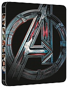 AVENGERS 2: The Age of Ultron 3D + 2D Steelbook™ Limited Collector's Edition + Gift Steelbook's™ foil (Blu-ray 3D + Blu-ray)