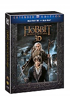 The Hobbit: The Battle of the Five Armies 3D 3D + 2D Extended cut (2 Blu-ray 3D + 3 Blu-ray)