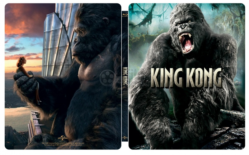 KING KONG Steelbook Limited Collectors Edition Gift