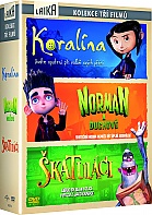 3 DVD Coraline-Paranorman-The Boxtrolls Collection (3 DVD)
