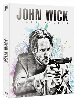 FAC #15 JOHN WICK ANGEL FULLSLIP EDITION + LENTICULAR MAGNET Steelbook™ Limited Collector's Edition - numbered + Gift Steelbook's™ foil