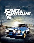 Fast & Furious 6 Steelbook™ Limited Collector's Edition + Gift Steelbook's™ foil (Blu-ray)