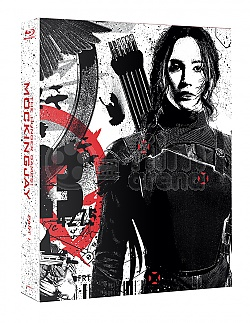 FAC #8 THE HUNGER GAMES: Mockingjay - Part 1 FULLSLIP + LENTICULAR MAGNET Steelbook™ Limited Collector's Edition - numbered + Gift Steelbook's™ foil