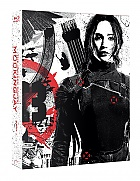 FAC #8 THE HUNGER GAMES: Mockingjay - Part 1 FULLSLIP + LENTICULAR MAGNET Steelbook™ Limited Collector's Edition - numbered + Gift Steelbook's™ foil (Blu-ray)