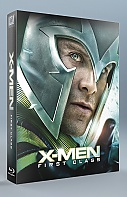 FAC #57 X-Men: First Class FULLSLIP + LENTICULAR MAGNET Steelbook™ Limited Collector's Edition - numbered + Gift Steelbook's™ foil (Blu-ray)