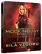 THE HUNGER GAMES: Mockingjay - Part 1 QSlip Steelbook™ Limited Collector's Edition + Gift Steelbook's™ foil (Blu-ray)