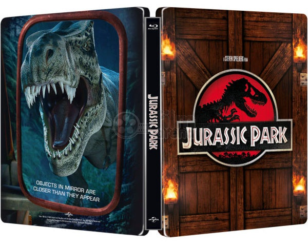 Fac 65 Jurassic Park Fullslip Lenticular Magnet Steelbook Limited Collector S Edition Blu Ray