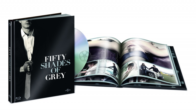 fifty shades of grey digibook blu ray dvd. Black Bedroom Furniture Sets. Home Design Ideas