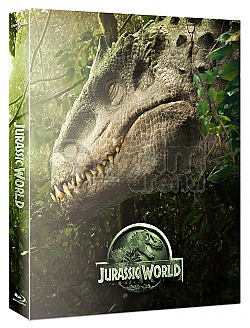 FAC #24 JURASSIC WORLD FullSlip + Lenticular Magnet 3D + 2D Steelbook™ Limited Collector's Edition - numbered + Gift Steelbook's™ foil