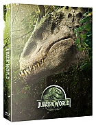 FAC #24 JURASSIC WORLD FullSlip + Lenticular Magnet 3D + 2D Steelbook™ Limited Collector's Edition - numbered + Gift Steelbook's™ foil (Blu-ray 3D + Blu-ray)