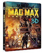 MAD MAX: Fury Road 3D + 2D Steelbook™ Limited Collector's Edition + Gift Steelbook's™ foil (Blu-ray 3D + Blu-ray)
