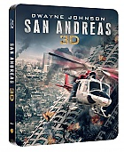 San Andreas  3D + 2D Steelbook™ Limited Collector's Edition + Gift Steelbook's™ foil (Blu-ray 3D + Blu-ray)