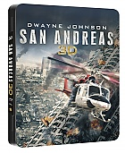 San Andreas  3D + 2D Futurepak™ Limited Collector's Edition + Gift Steelbook's™ foil (Blu-ray 3D + Blu-ray)